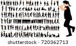 silhouettes of children   Shutterstock . vector #720362713