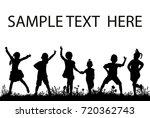 isolated  silhouette of...   Shutterstock . vector #720362743