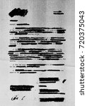 redacted letter with photocopy... | Shutterstock . vector #720375043