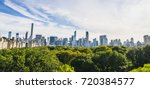 central park new york usa. 09... | Shutterstock . vector #720384577