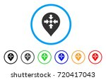 meeting point marker rounded...   Shutterstock .eps vector #720417043