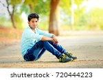 young handsome men | Shutterstock . vector #720444223