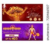 vector illustration of ravana... | Shutterstock .eps vector #720466507