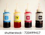 cmyk printing  cyan  magenta... | Shutterstock . vector #720499417