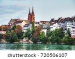 basel cityscape in switzerland...   Shutterstock . vector #720506107
