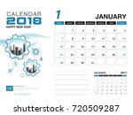 desk calendar 2018 template.... | Shutterstock .eps vector #720509287