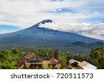 view from lempuyang mountain to ... | Shutterstock . vector #720511573