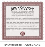 red invitation. with quality...   Shutterstock .eps vector #720527143