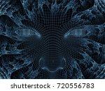 radiating mind series. 3d... | Shutterstock . vector #720556783