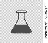 test tube vector icon eps 10.... | Shutterstock .eps vector #720559177