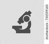 microscope vector icon eps 10.... | Shutterstock .eps vector #720559183