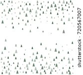 christmas trees background ... | Shutterstock .eps vector #720567007