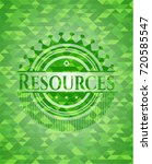 resources realistic green... | Shutterstock .eps vector #720585547