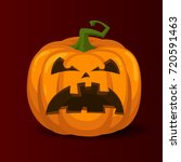 halloween pumpkin | Shutterstock .eps vector #720591463