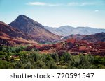 atlas mountains morocco | Shutterstock . vector #720591547