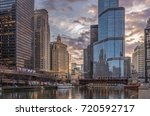 chicago il usa april 6 2017... | Shutterstock . vector #720592717
