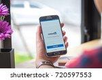 chiang mai  thailand  ... | Shutterstock . vector #720597553
