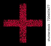 the shape of the cross is...   Shutterstock .eps vector #720605677