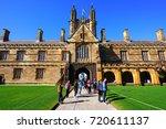 sydney  australia  7 aug 2017 ... | Shutterstock . vector #720611137