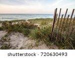 coastal beach backgrounds. dune ... | Shutterstock . vector #720630493