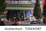 tokyo  japan   september 21st ... | Shutterstock . vector #720634387