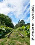 Small photo of Horoka station ruins Abolished railway in Hokkaido