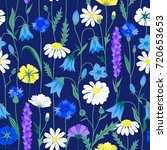 Floral Summer Seamless Pattern...