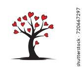 love tree logo   Shutterstock .eps vector #720667297