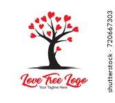love tree logo   Shutterstock .eps vector #720667303
