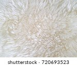 white furry carpet background.