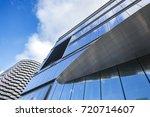 window glass  modern... | Shutterstock . vector #720714607