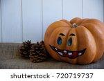 Orange Halloween Pumpkin....