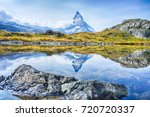 the matterhorn with reflection...