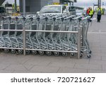 editorial use only  luggage... | Shutterstock . vector #720721627