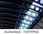 architectural closeup of... | Shutterstock . vector #720799963