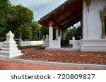 wat amphawan chetiyaram   samut ... | Shutterstock . vector #720809827