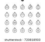 christmas balls ui pixel...