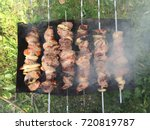 bbq competition background  bbq ... | Shutterstock . vector #720819787