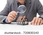inspector examining a house...
