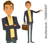 business boy | Shutterstock .eps vector #720833347