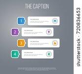 icon education set of bulb ... | Shutterstock .eps vector #720836653