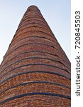 old architecture chimney | Shutterstock . vector #720845503