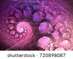 abstract fractal patterns and... | Shutterstock . vector #720898087