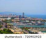 barcelona  spain   august 16 ... | Shutterstock . vector #720902923