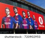 barcelona  spain   august 16 ... | Shutterstock . vector #720902953