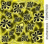 abstract floral pattern. vector ... | Shutterstock .eps vector #720907033