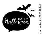 happy halloween vector... | Shutterstock .eps vector #720910147