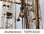 drilling well platform and... | Shutterstock . vector #720913213