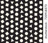 seamless primitive jumble... | Shutterstock .eps vector #720918373