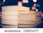 education and study as concept  ... | Shutterstock . vector #720921577